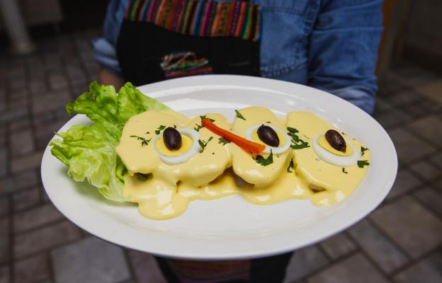 gabby's peruvian restaurant dish in wichita, kansas