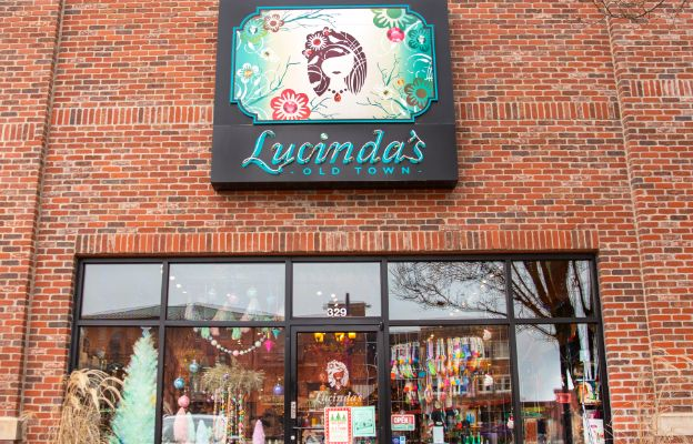 find gifts from the gift guide at lucindas in old town square, downtown wichita, kansas