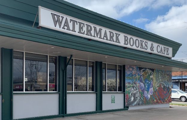watermark books and cafe storefront in wichita kansas