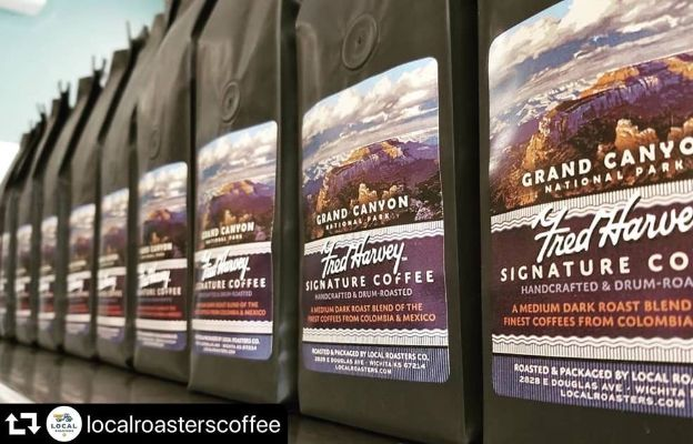 local roasters grand canyon authentic fred harvey coffee in wichita kansas