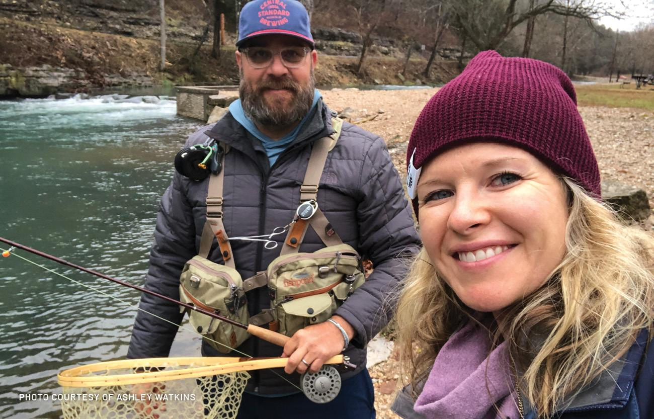 ashley watkins shares about life in wichita, enjoying the outdoors by fishing